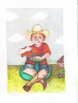 Sitnspin Cowboy by Katie Thomas