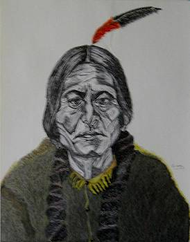 Sitting Bull by Ron Anthony
