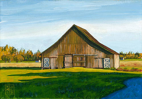 Skagit Valley Barn #3 by Stacey Neumiller
