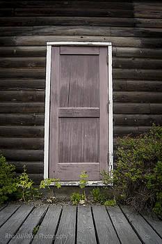 Skagway Door by Rhonda DePalma