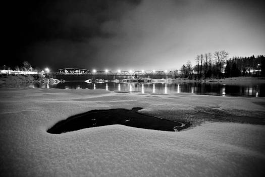 Skeena River Bridge by Brandon Broderick