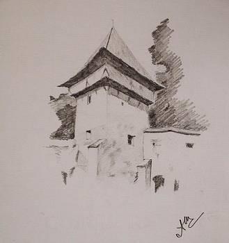 Sketch by Adina Bubulina