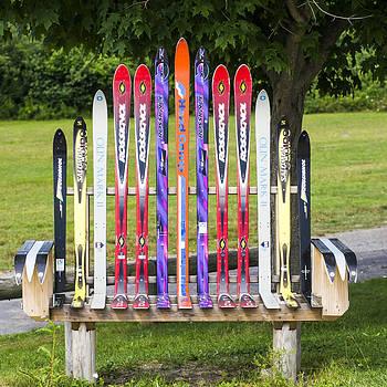 Steven Ralser - Ski Bench - Fort Foster - Maine