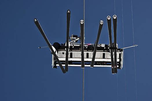 Ski Lift by Sonny Marcyan