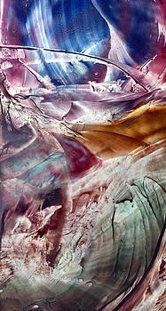Skies of Nibiru crossing the galactic equator  by Cristina Handrabur