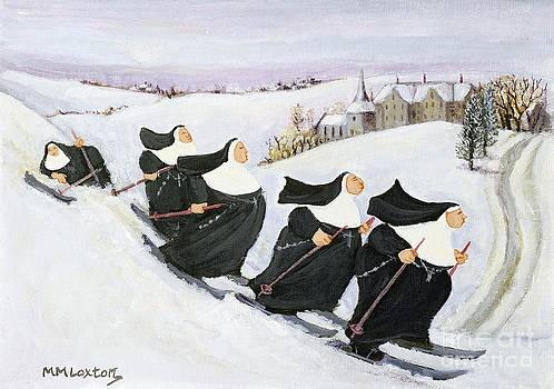 Margaret Loxton - Skiing