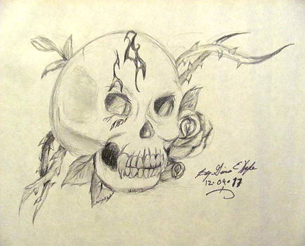 Skull Part 2 by Gina Hyde