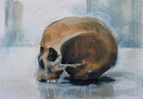Skull Torso by Barbara Pommerenke