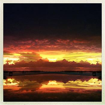 Sky Fire Siesta Key by Alison Maddex