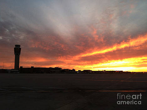 Sky Harbor Sunset by ChelsyLotze International Studio