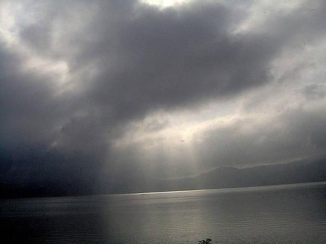 Sky Over the Lake by Emilija Cerovic