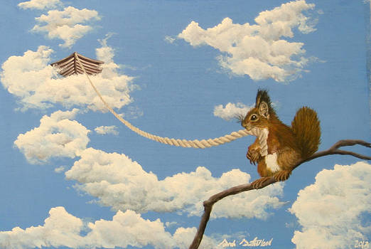 Sky Squirrel by Sarah Sutherland