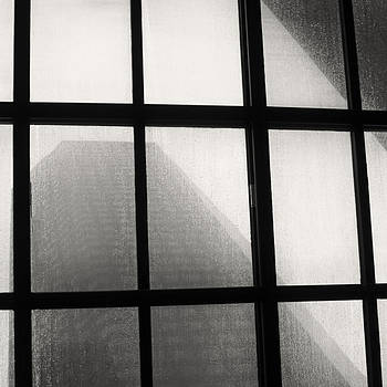 TONY GRIDER - SKYLIGHT IN RAIN BW SQUARE