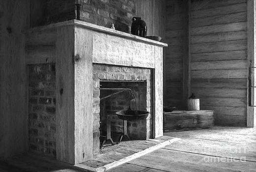 Kathleen K Parker - Slave Quarters Interior 4