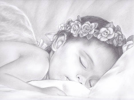 Sleeping Angel by Emhi Artem