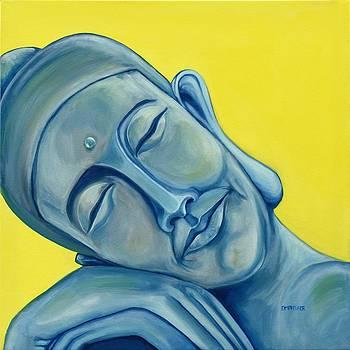 Sleeping Buddha by Dawn Pfeufer