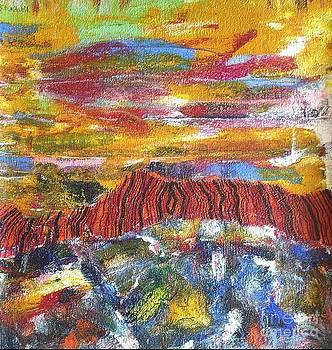 Sleeping  Mountain. by Dmitry Kazakov
