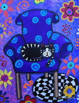 PRISTINE CARTERA TURKUS - SLEEPY CAT