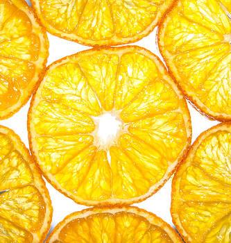 Slices orange. by Slavica Koceva