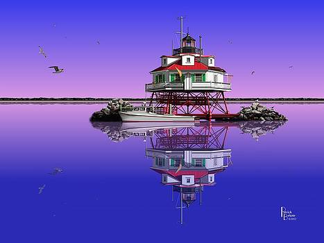 Slick Cam at Thomas Point by Patrick Belote