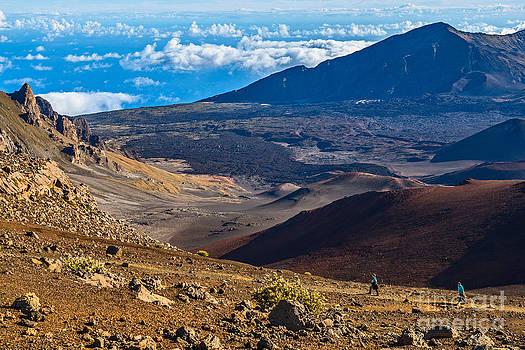 Jamie Pham - Sliding Sands Trail - the summit of Haleakala Volcano in Maui.