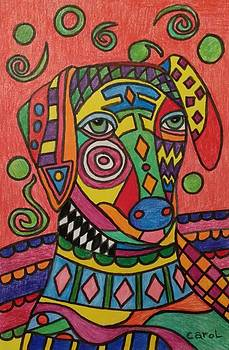 Sloughi Dog by Carol Hamby
