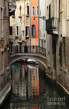 Small canal in Venice by Radu Razvan