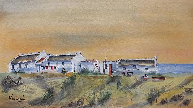 Small Fisherman's Settlement by Harold Kimmel