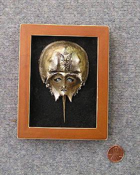 Small Horseshoe Crab Mask by Roger Swezey