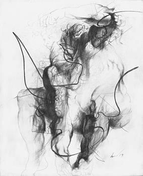 Small Ignudo 15 by Richard Claraval
