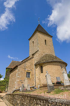 Patricia Hofmeester - Small village church in France
