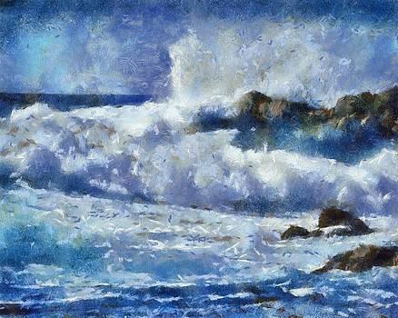 Smashing onto the Rocks by Carol Sullivan