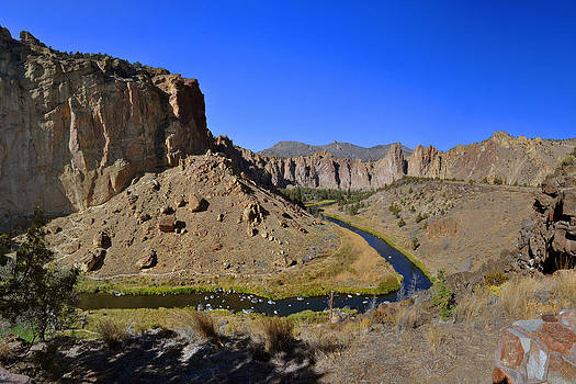 Smith Rock State Park Pano by Thomas J Rhodes