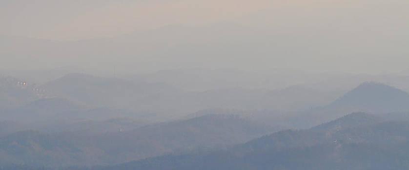 Smokey Ripples 2 by Peter  McIntosh