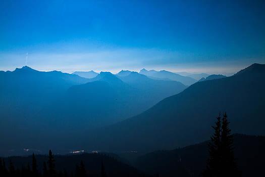 Smokey Sunrise by Daryl Hanauer