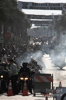 Smokin Main Street by J Michael Johnson Photography