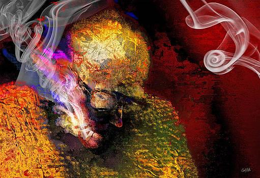 Smoking Man by Carl Rolfe