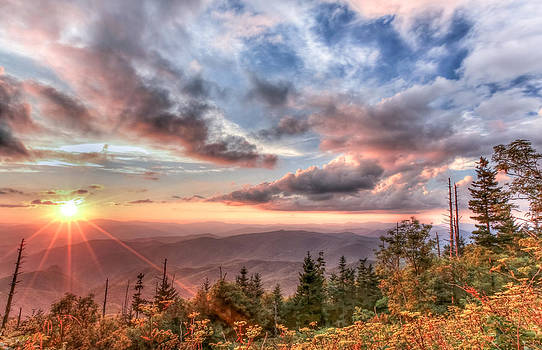 Smoky Mountain Lookout by Doug McPherson