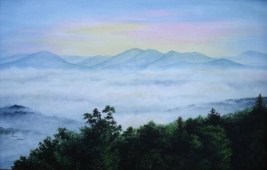 Smoky Mountain Sunrise #2 by Penny Johnson