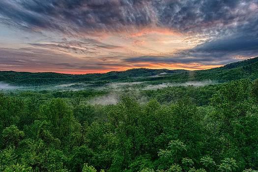 Smoky Mountain Sunrise by Eric Haggart