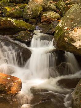 Smoky Mountain Waterfall by Cindy Haggerty