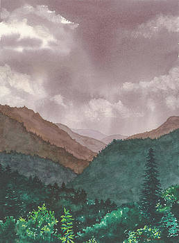 Smoky Mountains #6 by Penny Johnson