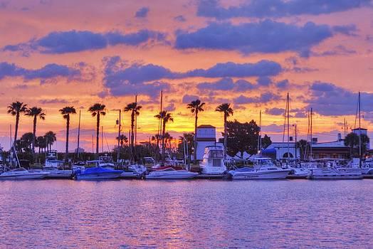 Smyrna Yacht Club Sunrise by DM Photography- Dan Mongosa