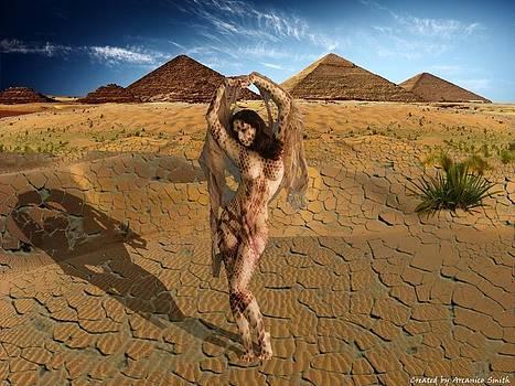 Snake Girl by Arcanico Luca Smith Acquaviva