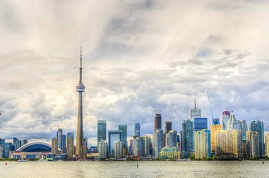 Sneaky Clouds in Toronto by Saswat Patnaik
