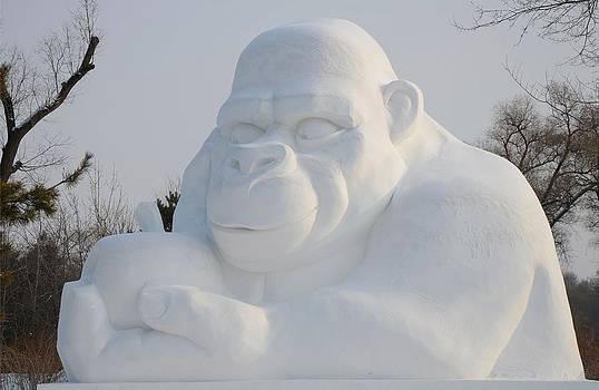 Snow Ape by Brett Geyer