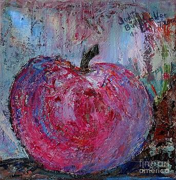 Snow Apple - SOLD by Judith Espinoza