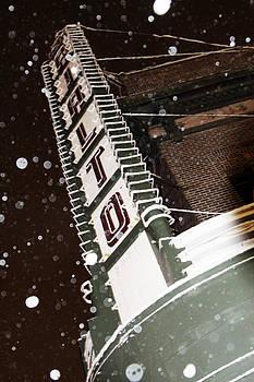 Snow at the Rialto by Casey Hanson