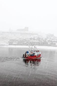 Snow Boat by Tony Partington