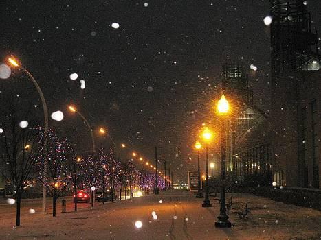 Alfred Ng - snow falls at night